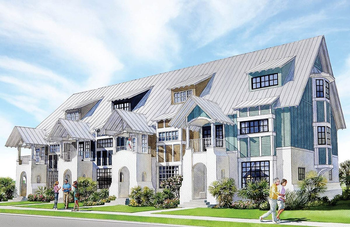 Townhomes palmilla beach for Luxury townhome plans