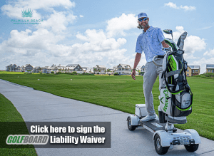 GolfBoard Liability Waiver Website