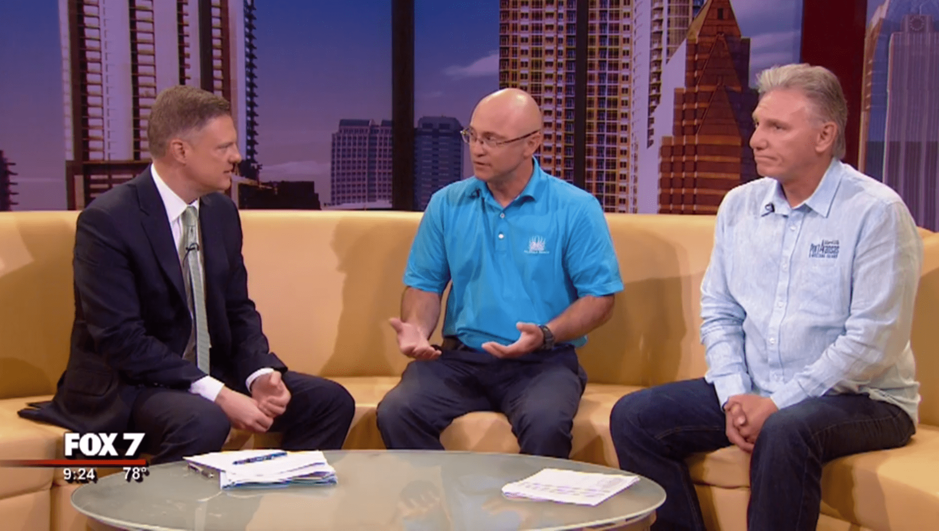 Greg Carr With Palmilla Beach Resort And Golf Club Interview On Fox 7 Austin