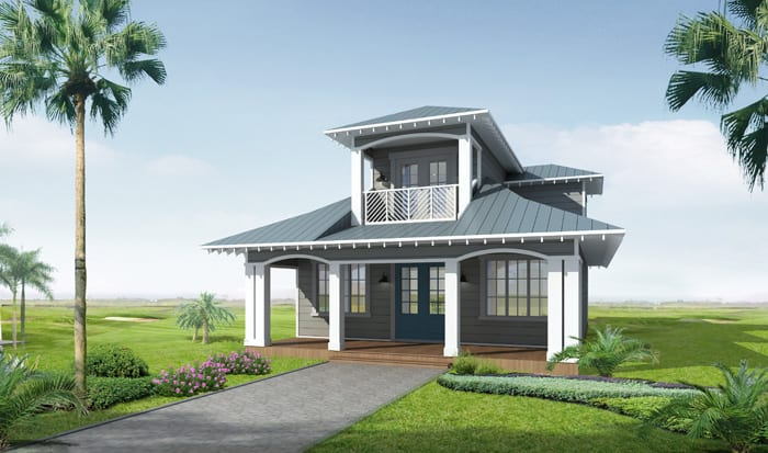 Bungalows_ElevationD